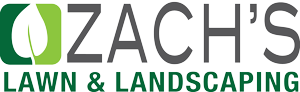 Zach's Lawn and Landscaping Logo